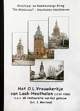 Boekomslag O.L.Vrouwkerkje van Laak Houthalen