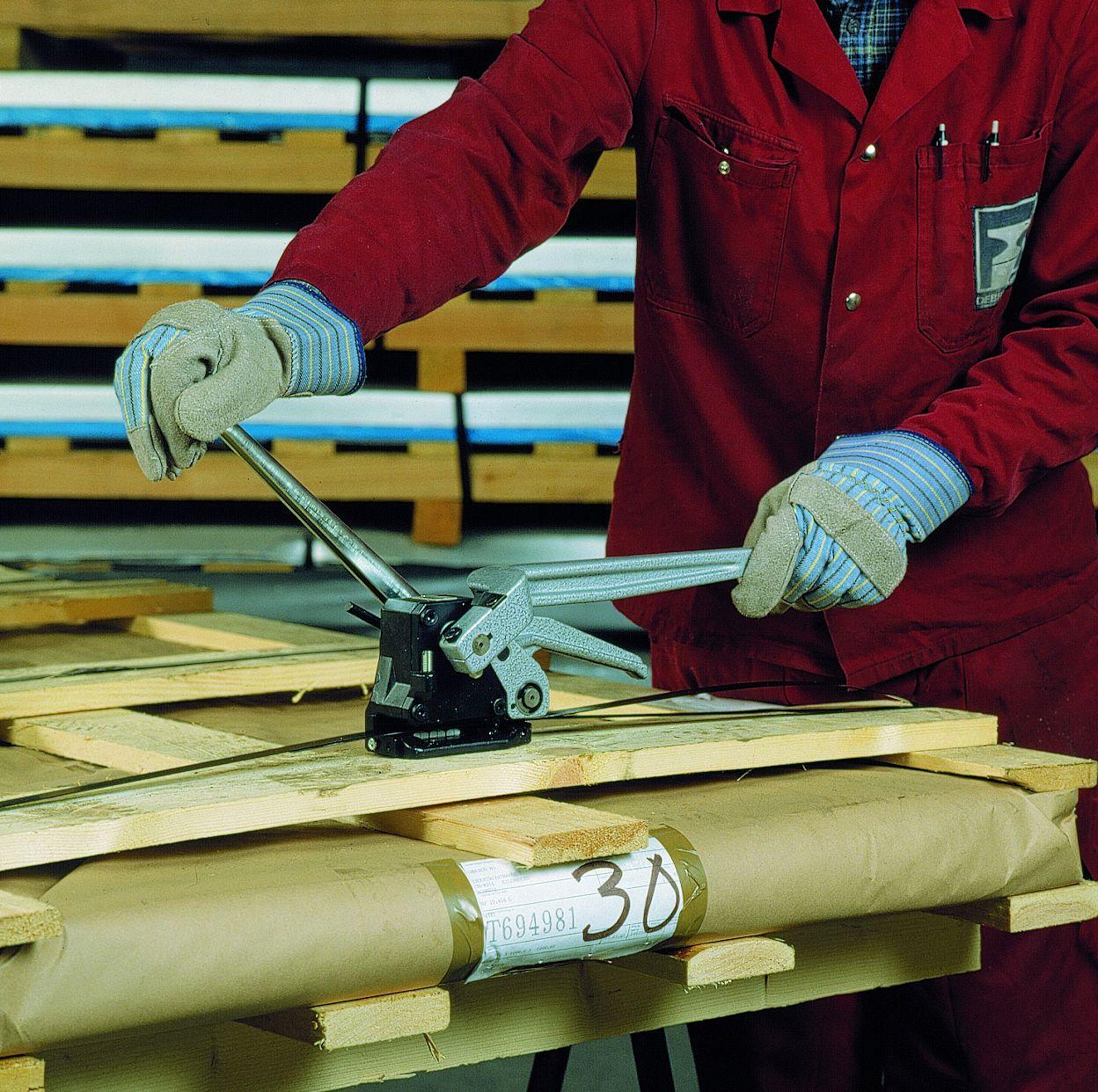 免鐵扣式手動鋼帶打包機 CH 48