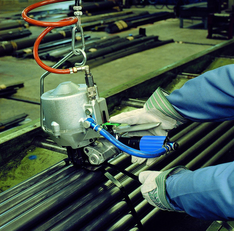 鐵扣式氣動鋼帶打包機CR 24