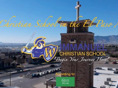 Immanuel Christian School Named #1 Christian School in El Paso Area