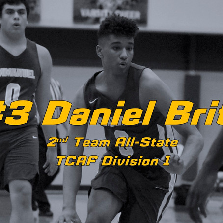 Brito Named to TCAF All-State 2nd Team