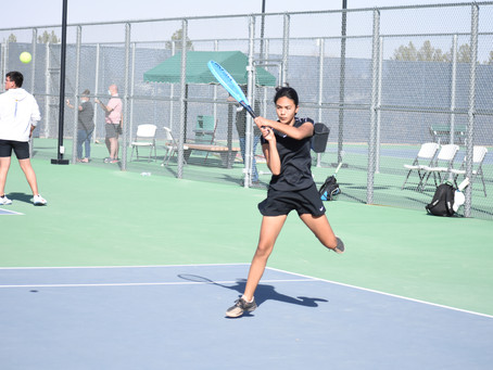 ICS Tennis Trying to Find Its Footing Before District and State Tournaments