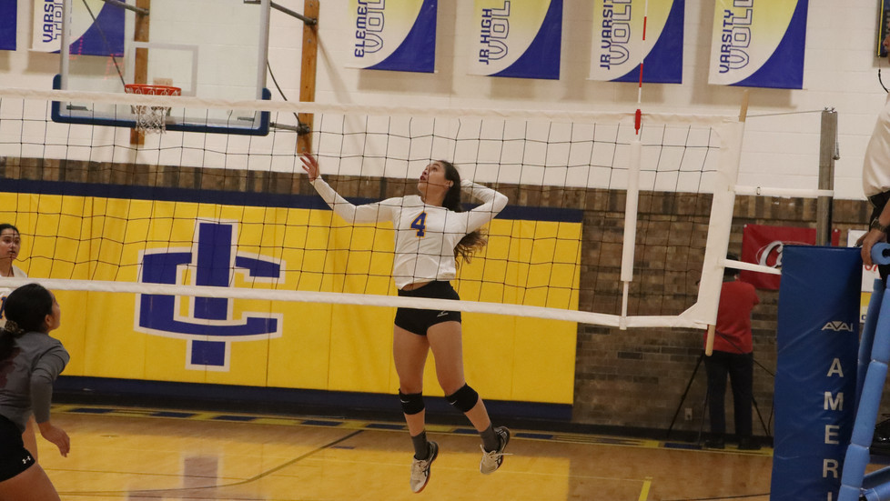 Varsity Volleyball Heads into Hectic Week with a Win