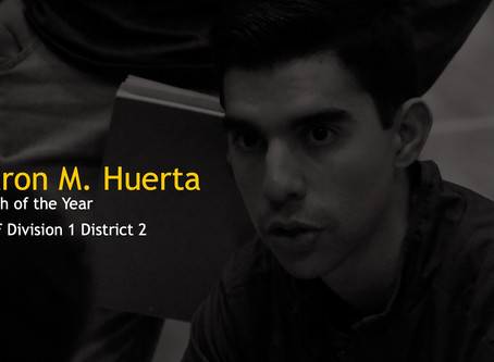 Coach Huerta Named Coach of the Year