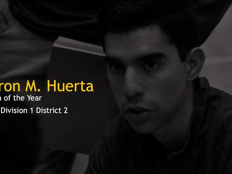 Coach Huerta Named Coach of the Year