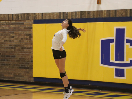 Varsity Volleyball Deals Sierra Blanca 3-1 Loss in Home Opener