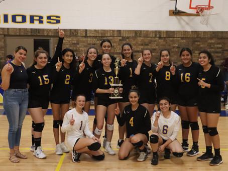 Lady Warriors Claim ICS Volleyball Invitational Championship