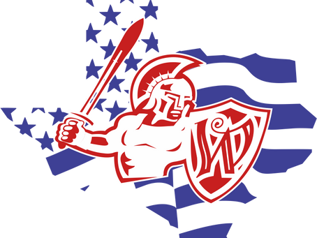 New Patriotic Logo for the Month of July