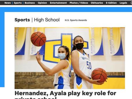 Hannah Ayala and Juliana Hernandez Sit Down with the El Paso Times