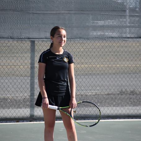 ICS Tennis Drops Dual Match to Clint
