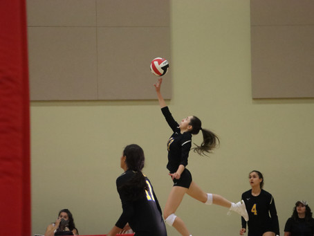 Varsity Volleyball Hands Loretto Loss in First Meeting in Years
