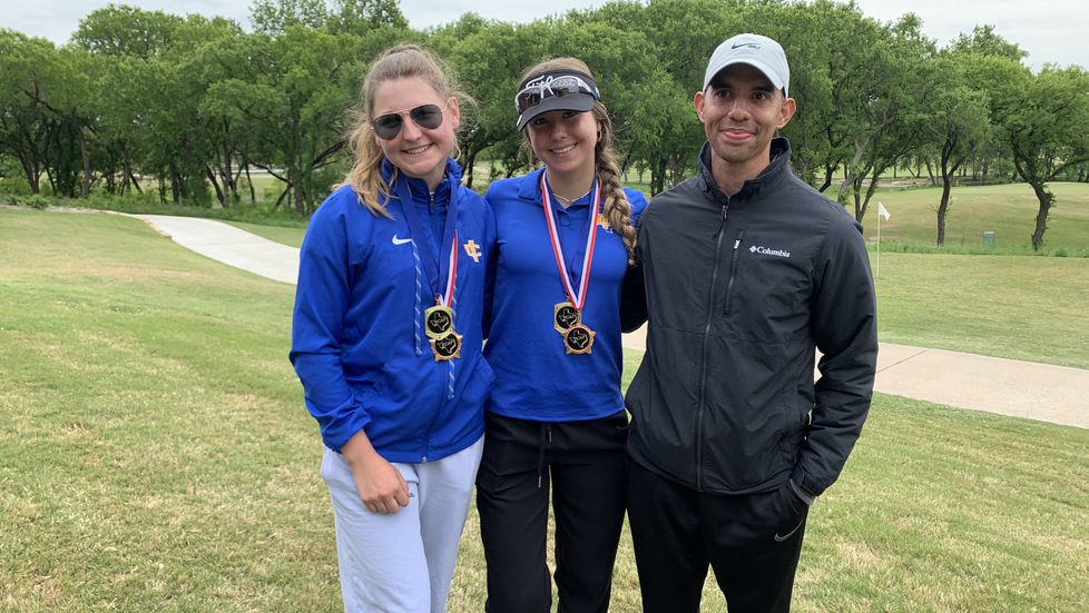 ICS Golf: Stubbs Sisters Take Home 3rd and 4th in State