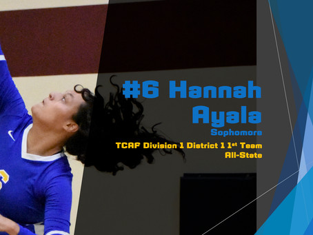 Ayala Awarded 1st Team All-State Honors