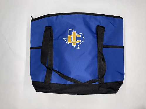 IC Texas Zipper Insulated Tote