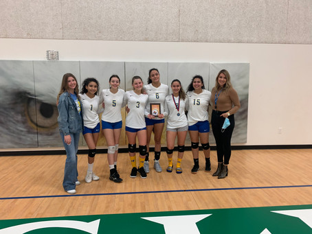 Volleyball Season Ends with Final Four Finish