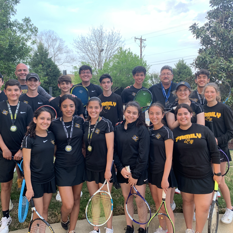 ICS Tennis Takes 2nd in District; Who Will Play for State?