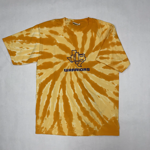 Youth IC Texas Warriors Tie-Dye T-Shirt
