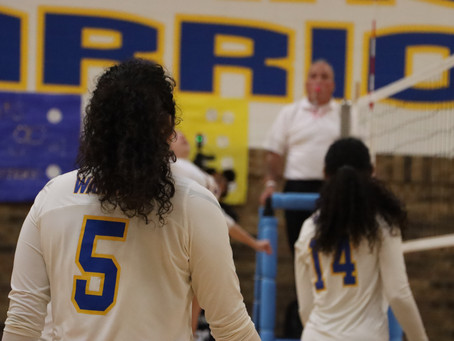 Lady Warriors Get Key Win Before Final District Trip