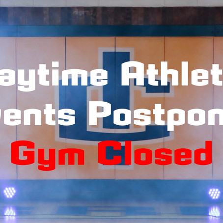 All Daytime Athletic Events in ICS Gym Postponed Until Further Notice Due to Flooding