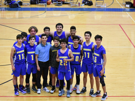 Warriors' Season Ends in TCAF State Basketball Tournament Final Four