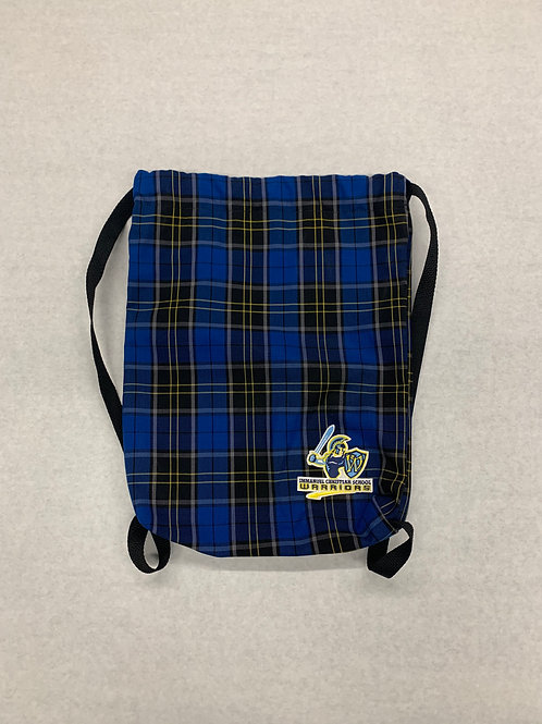 Immanuel Plaid Pull-string Accessory Bag