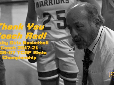 Varsity Girls Basketball Coach, Miguel Rodriguez, Resigns