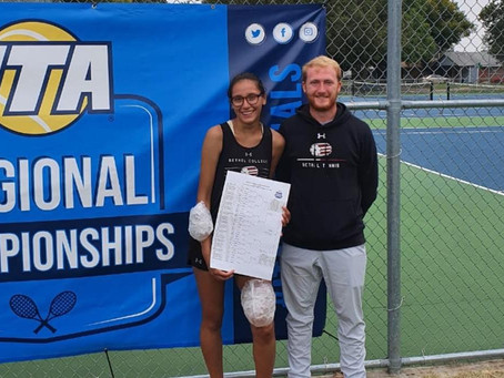 Former ICS Tennis Player Making Headlines in NAIA