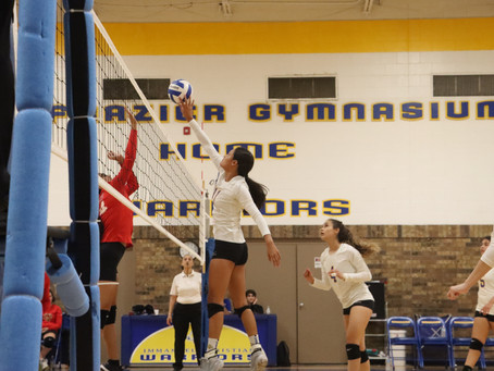 Varsity Volleyball Handles Anthony in 4