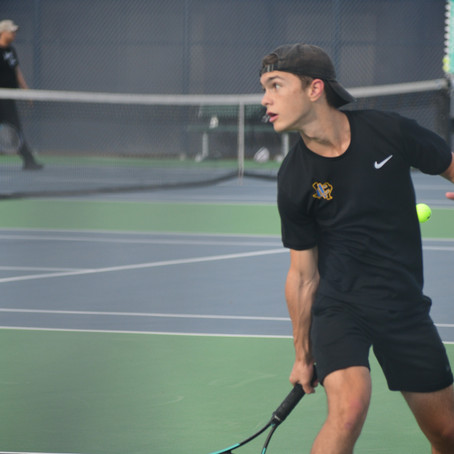 Varsity Tennis Competes Against Fabens