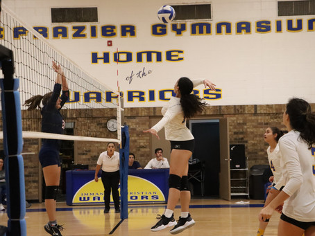 Lady Warriors Defeat Wylie in 3