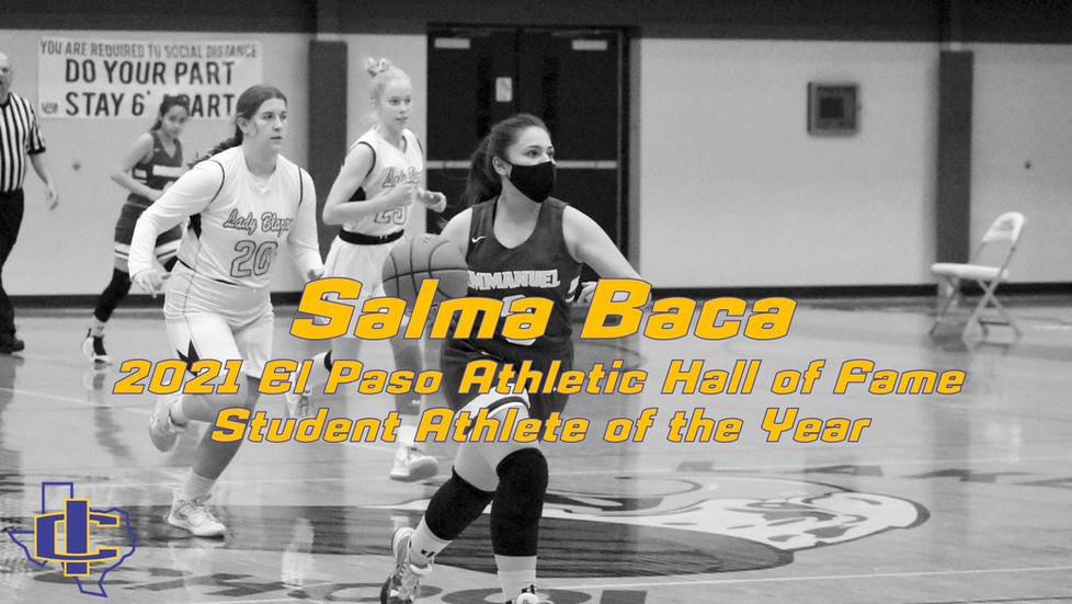 Salma Baca Honored by El Paso Athletic Hall of Fame