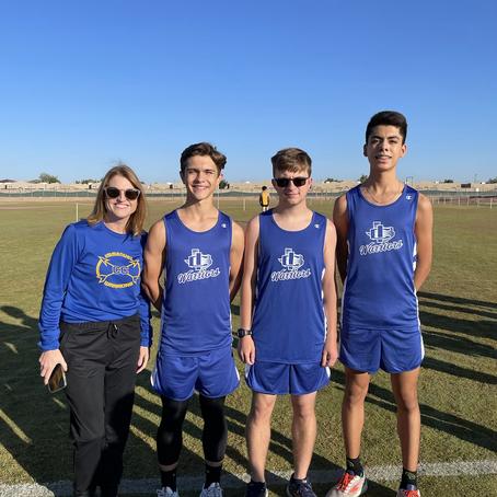 Warriors Run in Clint/Fabens Invitational Cross Country Meet