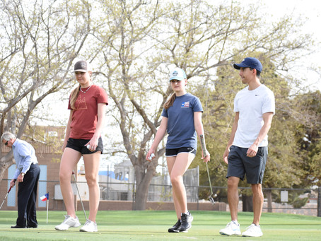 Local Golf Talents to Represent ICS This Spring