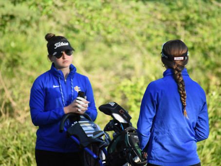 ICS Golf Completes Round 1 of TCAF State Tournament; Katee Stubbs in Control of 2nd Place