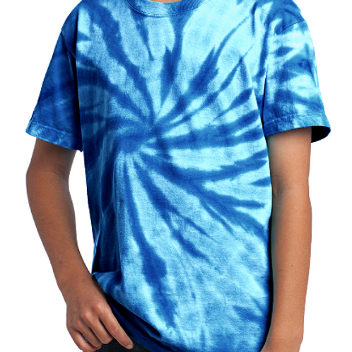 IC Texas Warriors Royal Blue Tie-Dye T-Shirt