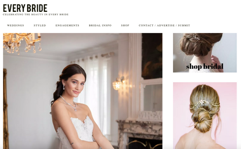 """Every Bride  May 25, 2019  Webitorial  """"The Briarcliff Manor Inspirational Styled Shoot"""" by Rebeca and Andrew Federico"""