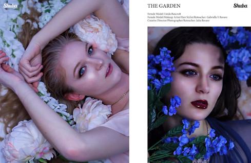 "SHUBA Magazine  June 2019  Vol. 11, Issue 25, pgs. 24-28  ""The Garden"" by Julia Adele"