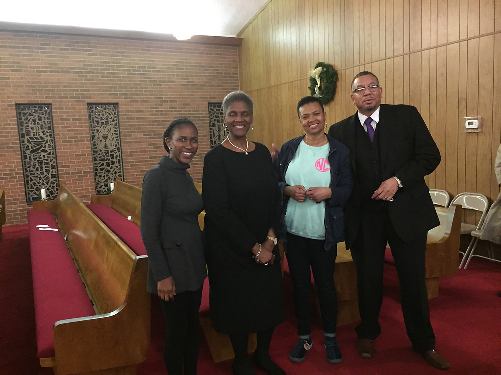 Picture of Mount Pleasant Baptist Church members
