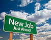 "Billboard ""New Job Just Ahead"""