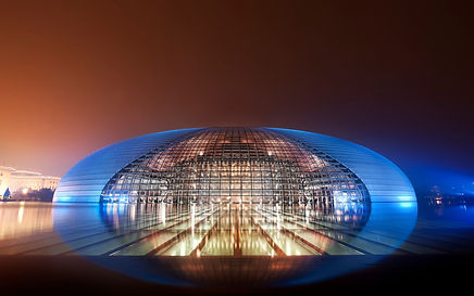 Concert Hall in Beijing, China