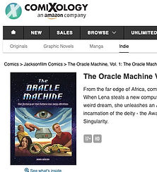 The Oracle Machine Graphic Novel on Comixology