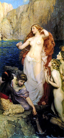 Draper's 'The Pearls of Aphrodite' - Aphrodite as archetype