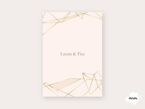 """Hochzeitskarte """"Simple"""""""