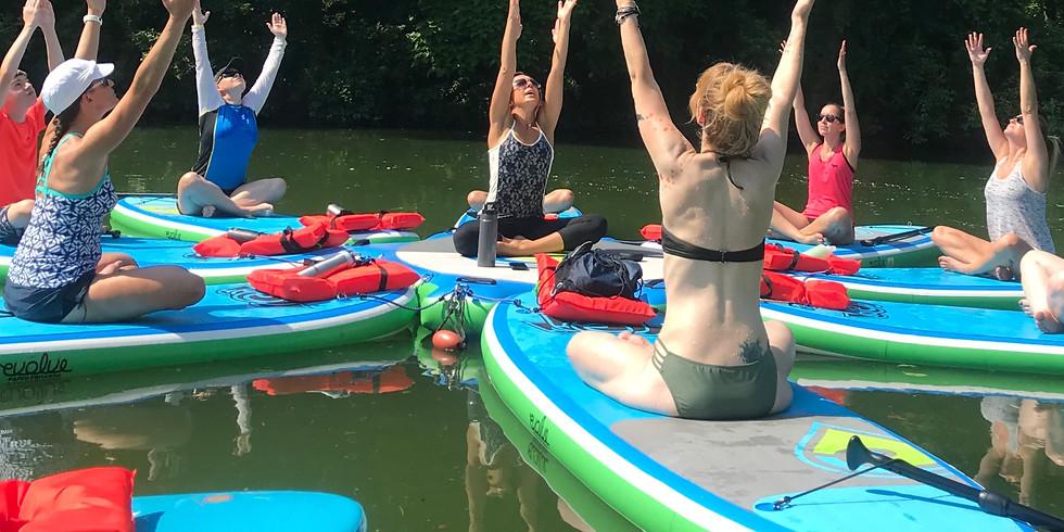 Pop-Up SUP Yoga Class w/ Caitlin