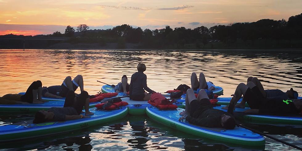 Floating Meditation-Blue Marsh Lake