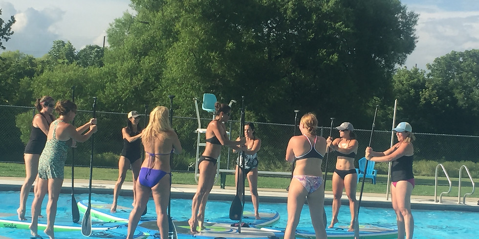 FREE Stand Up Paddle Board Paddle Pump Demo