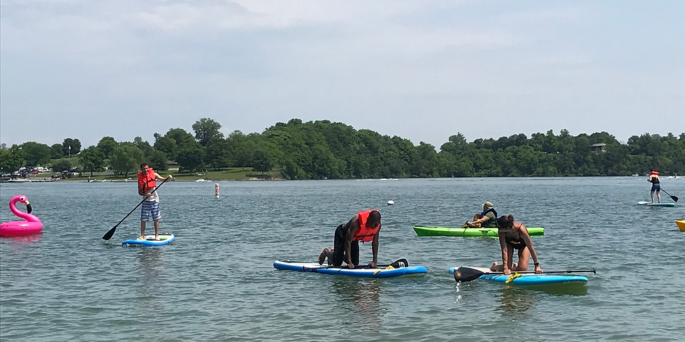 Free Stand Up Paddle Board Lessons: Gifford Pinchot State Park