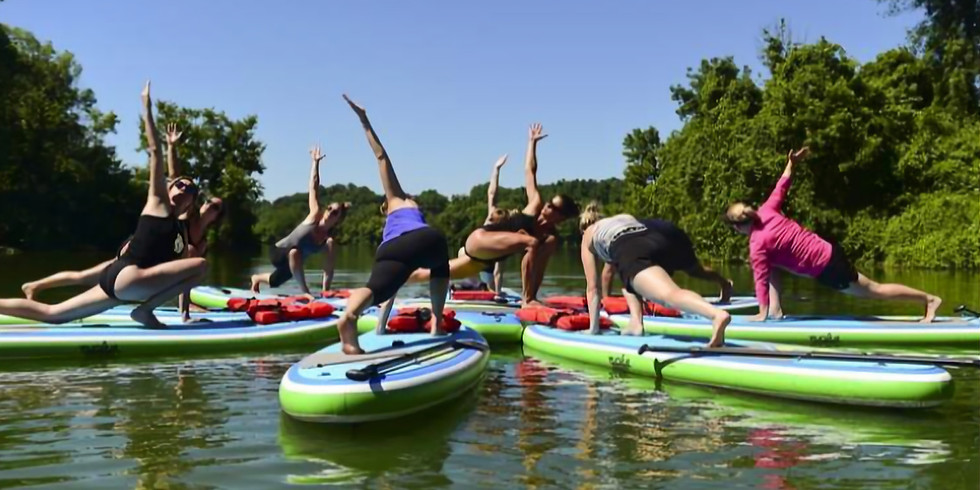 SUP Yoga Workshop with Rachel Stine