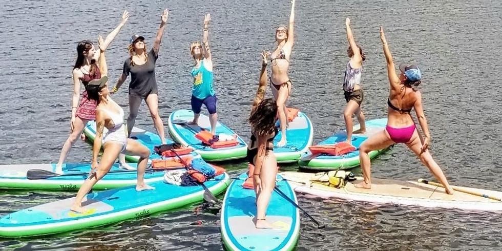 Women's Summer Solstice SUP Celebration-Marsh Creek State Park
