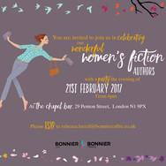 Wonderful Women's Fiction: Event Invitation